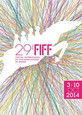 Affiche du Festival international du film francophone de Namur 2014