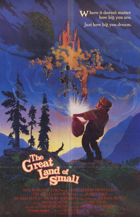 Affiche anglophone du film The Great Land of Small