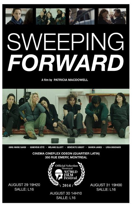 Visuel du film Sweeping Forward de Patricia MacDowell