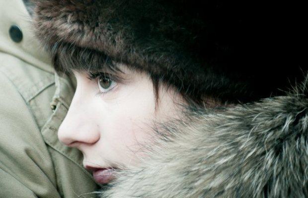 Sophie Desmarais dans le film Gurov et Anna (Rafaël Ouellet, 2014 - ©Filmoption International)