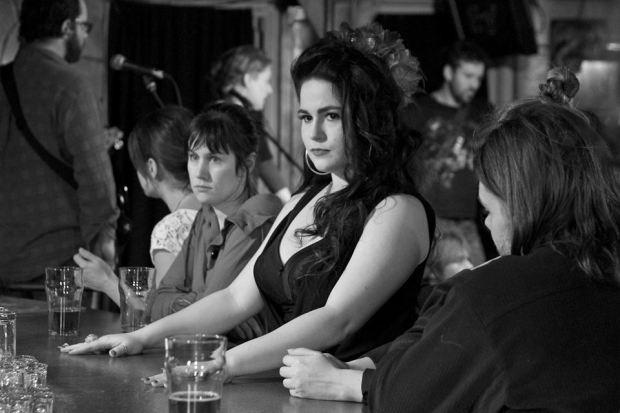 Image de la comédienne Cristina Moscini dans le film Limoilou (réal. Edgar Fritz) - Crédit photo : Guy Nadeau