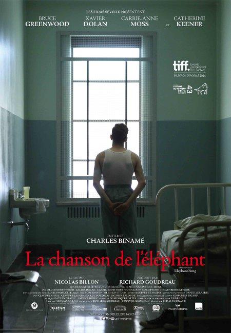 La chanson de l'éléphant / Affiche francophone du film Elephant Song (2014, Charles Binamé - ©Films Séville)