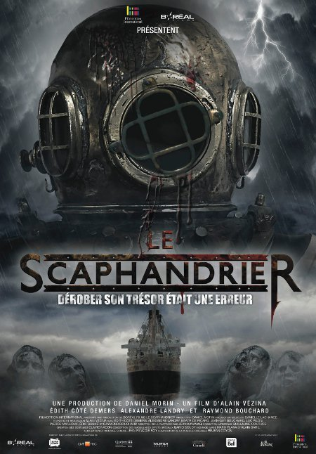 Affiche du film Le scaphandrier (©Filmoption International)