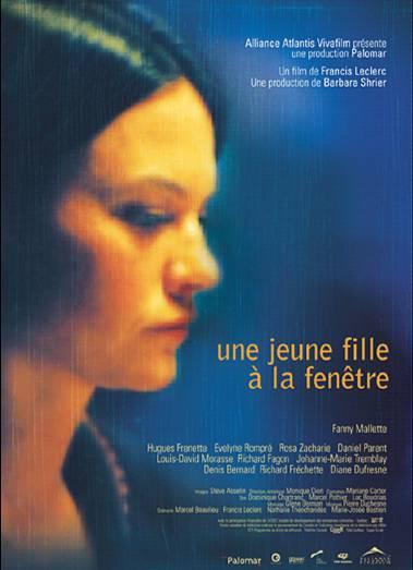 Affiche du film Une jeune fille à la fenêtre (Francis Leclerc, ©Palomar Pictures)