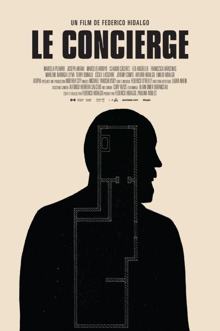 Affiche du film Le concierge de Federico Hidalgo (source Another City)