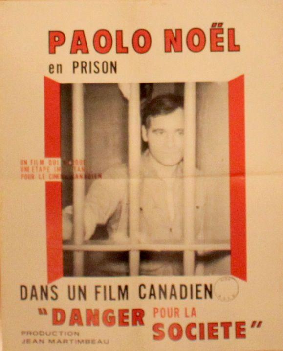 Image représentant l'Affiche originale du film Danger pour la société de Jean Martimbeau