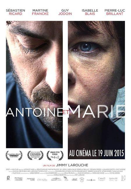 Affiche du film Antoine et Marie (source image : Alma Films)