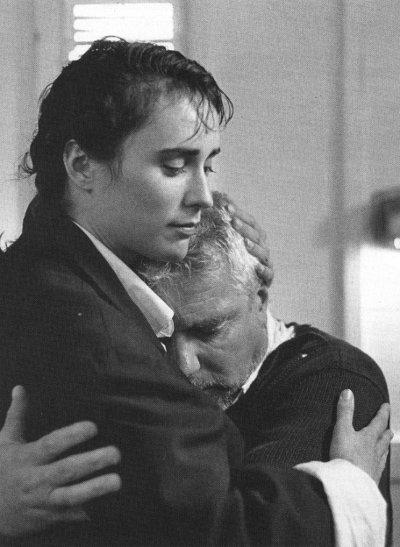Image des comédiens Geneviève Rioux et Michel Dumont dans le film Cargo de François Girard (Source : Collection personnelle)