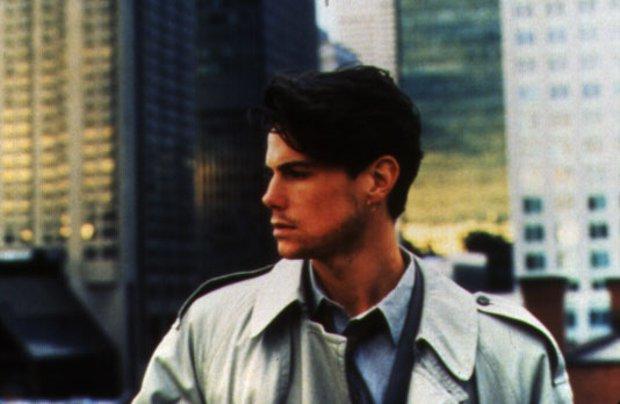 Image du comédien Cameron Bancroft qui joue le rôle de Bernie dans Love and Human Remains (réal. Denys Arcand, prod. Max Films - 1993 - source image : collection personnelle)