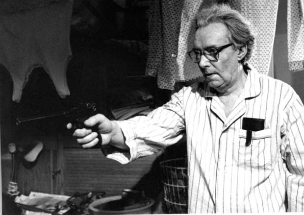 Photo officielle fournie par Malofilm Distribution représentant Gilbert Sicotte dans le film La vie d'un Héros de Micheline Lanctôt (source image : collection personnelle)