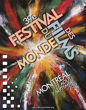Affiche du Festival des films du monde Montréal 2015