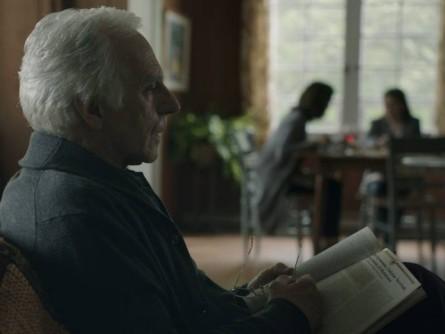 Image du comédien Paul Savoie dans Le journal d'un vieil homme (source Films Séville)