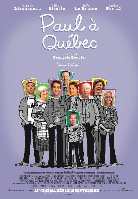Affiche officielle du film du film Paul à Québec (Source: Remstar Films)