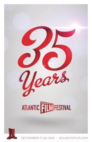 Affiche du 35e Festival du film atlantique (AFF) 2015