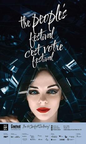 Affiche officielle du CinéFest de Sudbury édition 2015