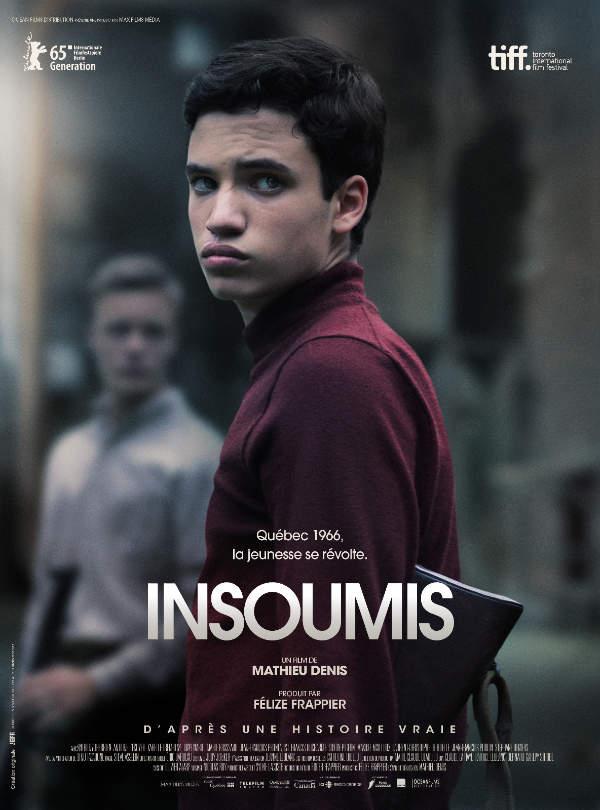 Insoumis : affiche française du film Corbo (source image : Océan Films)