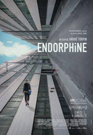 Affiche internationale du film Endorphine de André Turpin (Source: Films Séville)