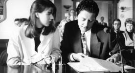 Geneviève Brouillette et Denis Mercier dans un extrait du film Liste noire de Jean-Marc Vallée (Source : collection personnelle)