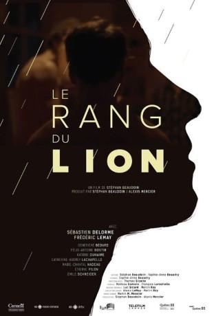 Affiche du film Le rang du lion