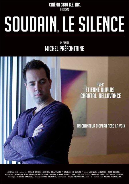 Affiche du film Soudain, le silence
