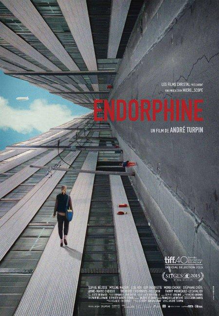 Affiche finale du film Endorphine d'André Turpin