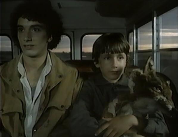 Image des jeunes comédiens Xavier Norman Petermann (Mario) et Francis Reddy (Simon) dans Mario de Jean Beaudin (collection personnelle)