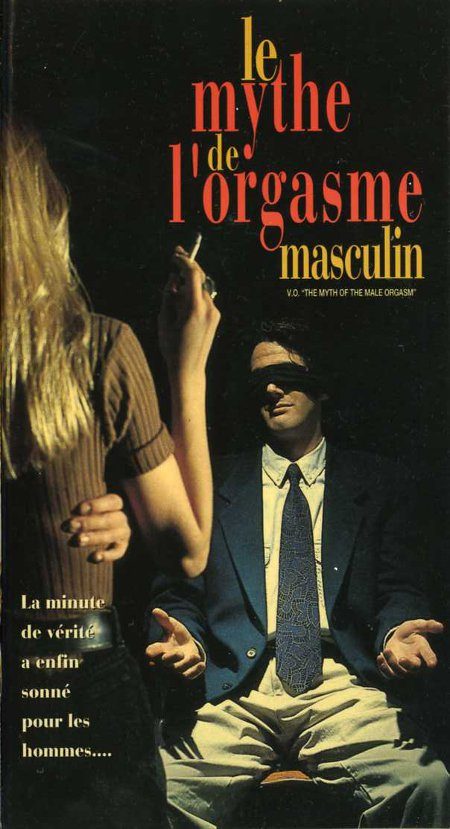 Jaquette VHS de la version française du film The Myth of the Male Orgasm