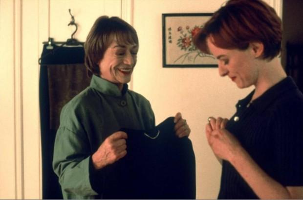 Pascale Bussières et Annie Girardot dans le film L'âge de braise de Jacques Leduc