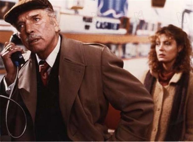Image des comédiens américains Burt Lancaster et Susan Sarandon dans Atlantic City (coproduit par Denis Héroux, réalisé par Louis Malle - 1979)