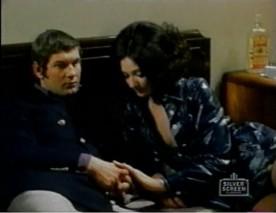 Image des comédiens Réjean Lefrançois et Maruska Stankova dans Et du fils de Raymond Garceau (Image: capture d'écran de diffusion TV)