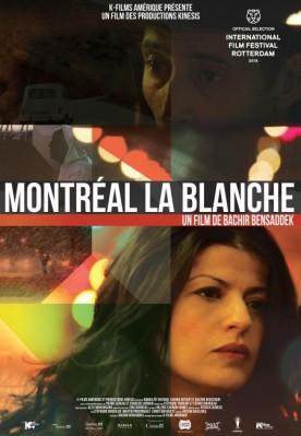 Affiche du film Montréal la blanche (K-Films)
