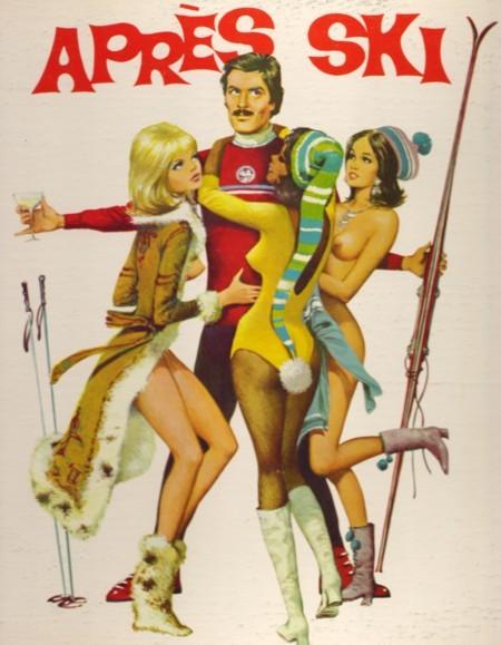 Affiche de la comédie érotique Après ski de Roger Cardinal