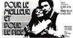 Encart publicitaire du film Pour le meilleur et pour le pire (Claude Jutra, 1975)