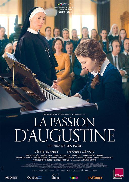Affiche française du film La passion d'Augustine