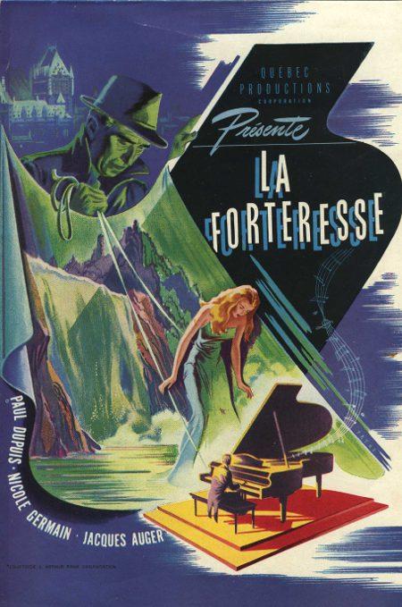 Image du film La forteresse - Québec Productions - 1947 (©filmsquebec.com)