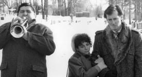 Une histoire inventée (Marc Gélinas (g.), Léo Munger, Marc Messier (d.)) - source image : collection filmsquebec.com
