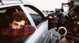 Juste la fin du monde – Photo de tournage : Xavier Dolan - Photo : Shayne Laverdière, courtoisie de Sons of Manual
