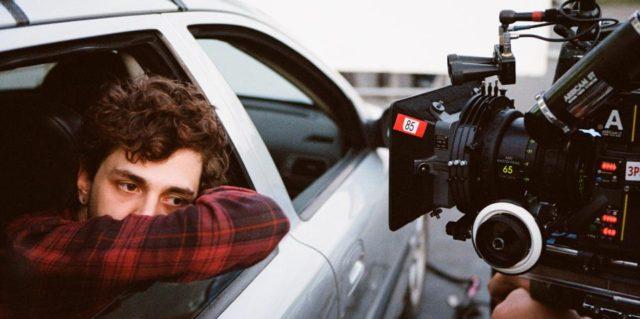Juste la fin du monde – Photo de tournage : Xavier Dolan - Photo : Shayne Laverdière, courtoisie de Sons of Manual