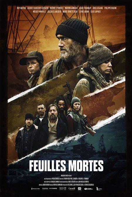 Affiche du film Feuilles mortes (Thierry Bouffard, Steve Landry (Carnior), Édouard A. Tremblay, 2016)