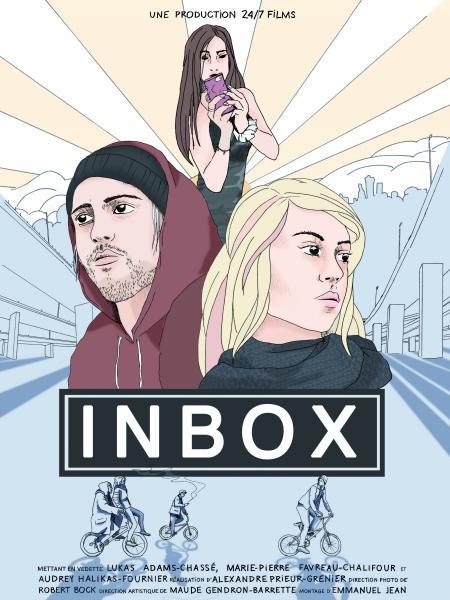 Affiche du film Inbox (Alexandre Prieur-Grenier) - ©24/7 Films
