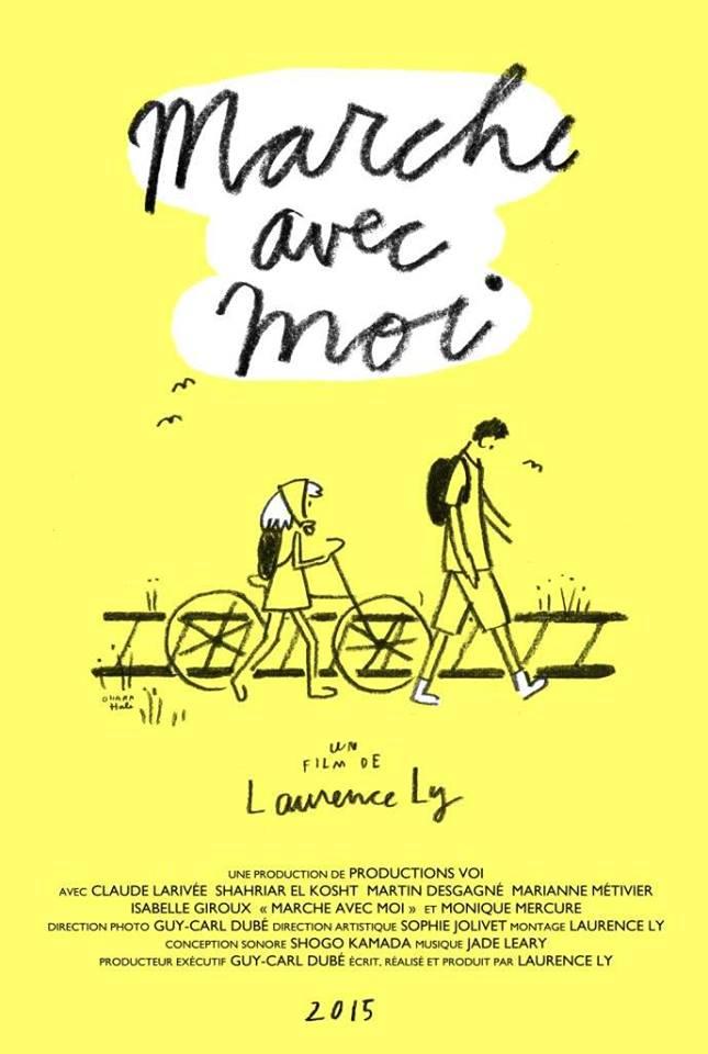 affiche du film Marche avec moi (Laurence Ly)