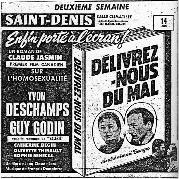 Encart La Presse pour le film Délivrez-nous du mal de Jean-CLaude Lord