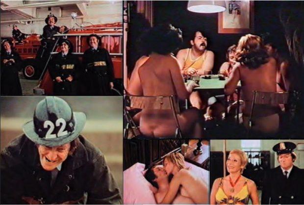 Images extraites du film Tout feu tout femme (Montage réalisé pour le catalogue Fantasia 2016)