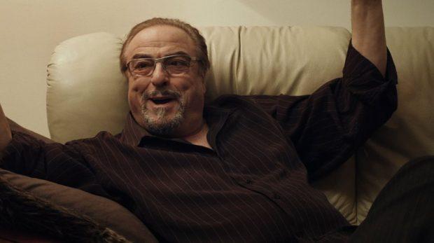 Dino Tavarone sur le divan de Jimmy Larouche