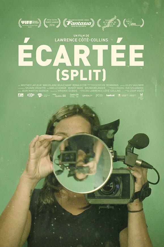 Affiche bilingue du film Écartée de Lawrence Côté-Collins (©Karine Savard)