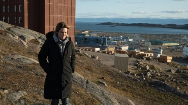 Marie Josée Croze dans le film Iqaluit de Benoît Pilon