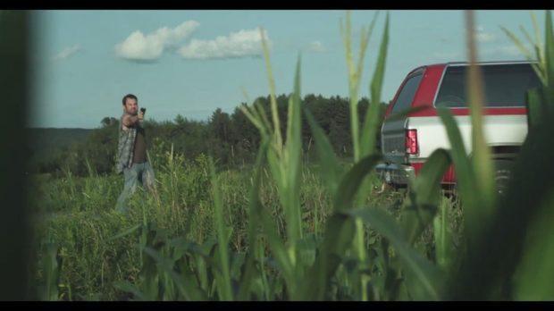 L'acteur Tyler Murree (rôle de Bill Anderson) dans le film Generation Wolf de Christian de la Cortina