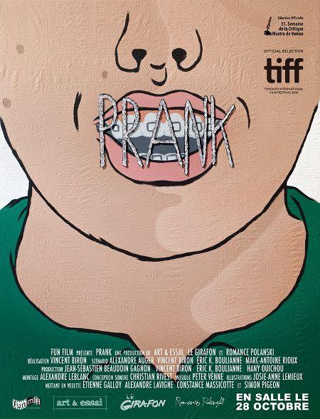 Affiche du film Prank de Vincent Biron (FunFilm Distribution)