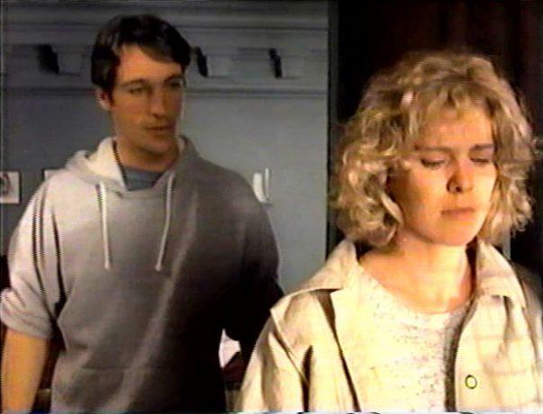 Les acteurs Léa Marie Cantin et Jean L'Italien dans le film de Johanne Prégent Blanche est la nuit - la rencontre