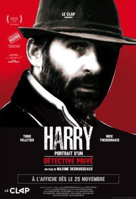 Harry: Portrait d'un détective privé – Film de Maxime Desruisseaux